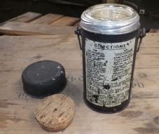 FV Thermos flask. Dated 1951.